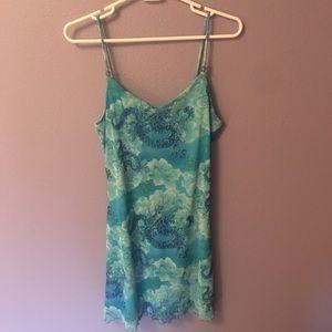 Dresses & Skirts - 90's spaghetti strap mini dress